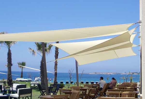 SHADE SAILS FOR CAFES