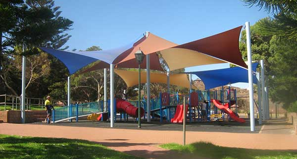 SHADE SAILS FOR SCHOOL
