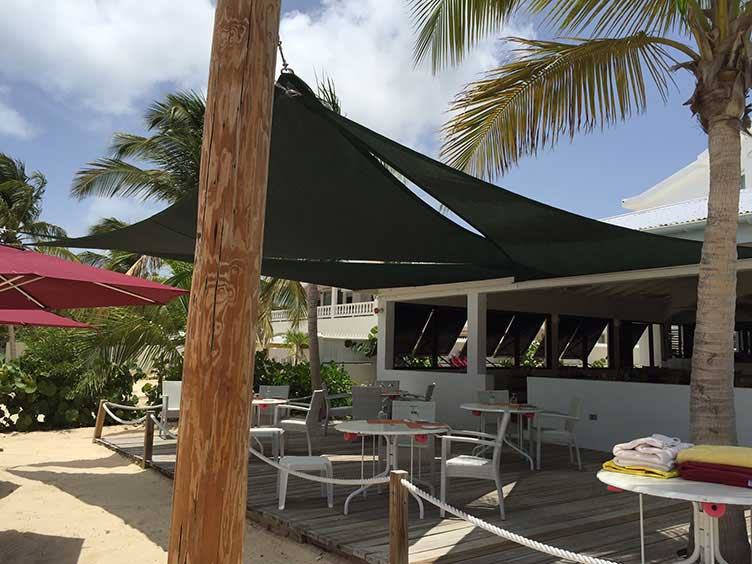 Sail shade World shade sail in Antigua