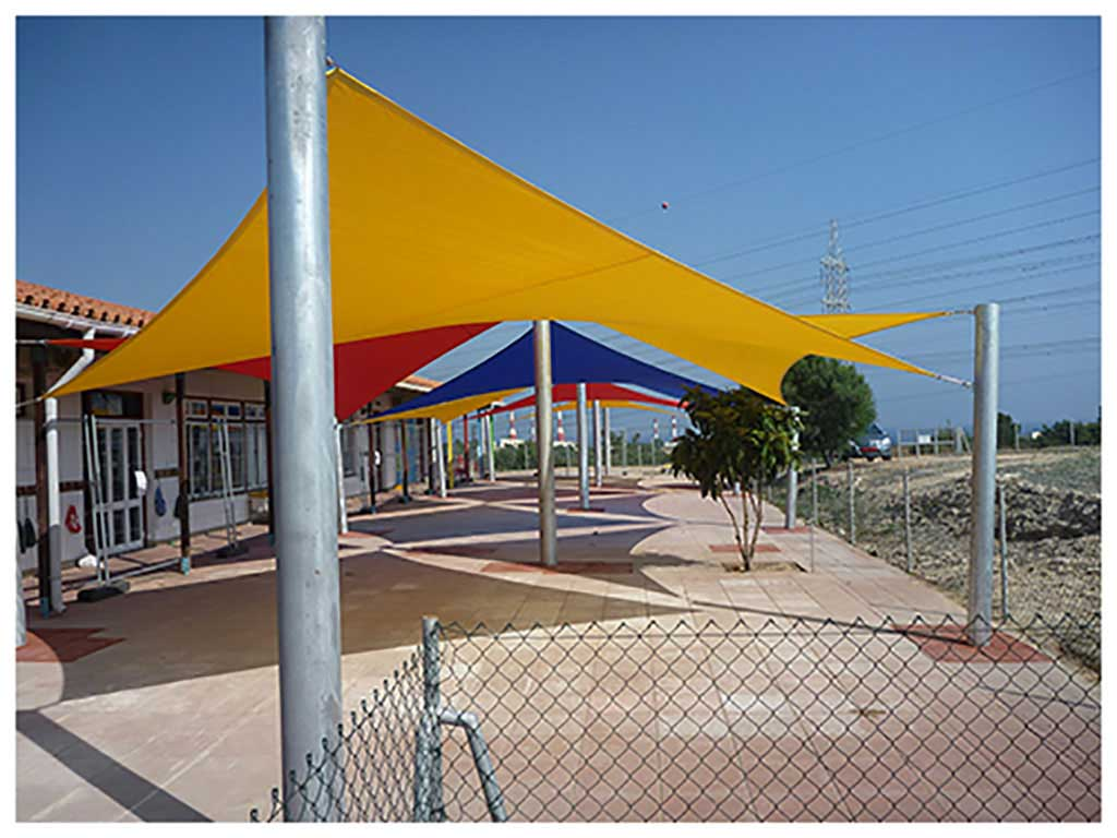 Sail shade World shade sail in Dhekelia, Cyprus