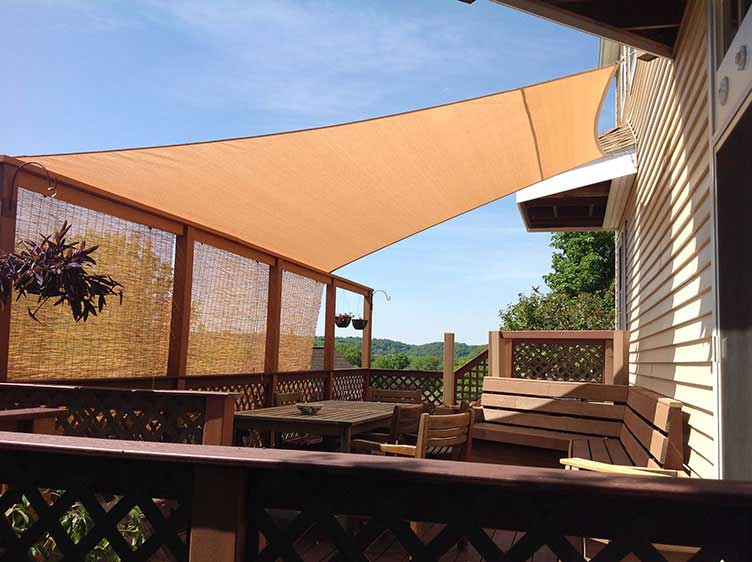 Sail shade World shade sail in United States