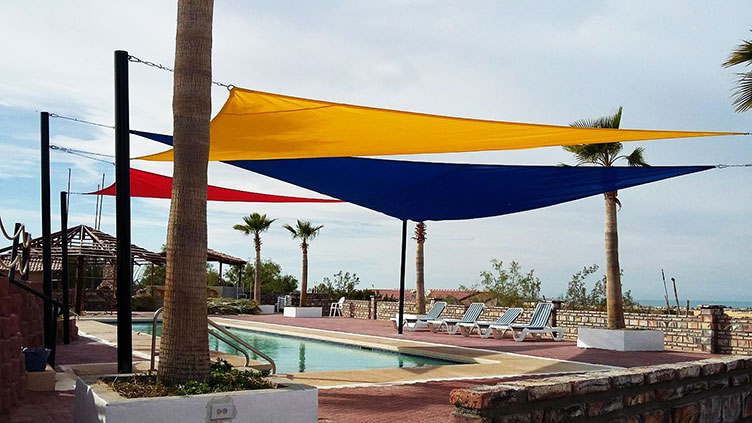 Sail shade World shade sail in Mexico