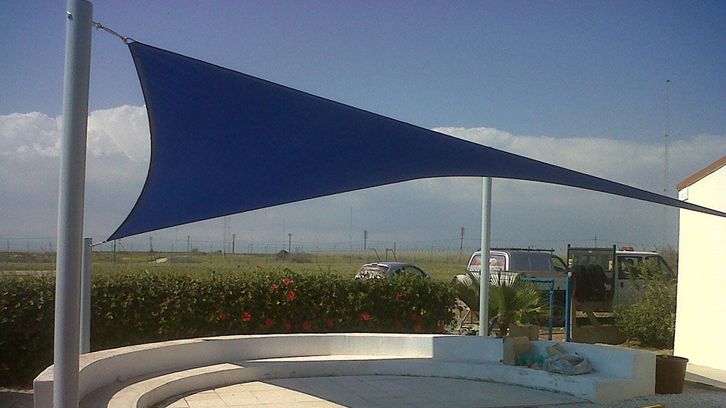 Sail shade World shade sail in Cyprus