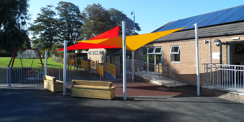 Sail shade World shade sail in Havant, United Kingdom