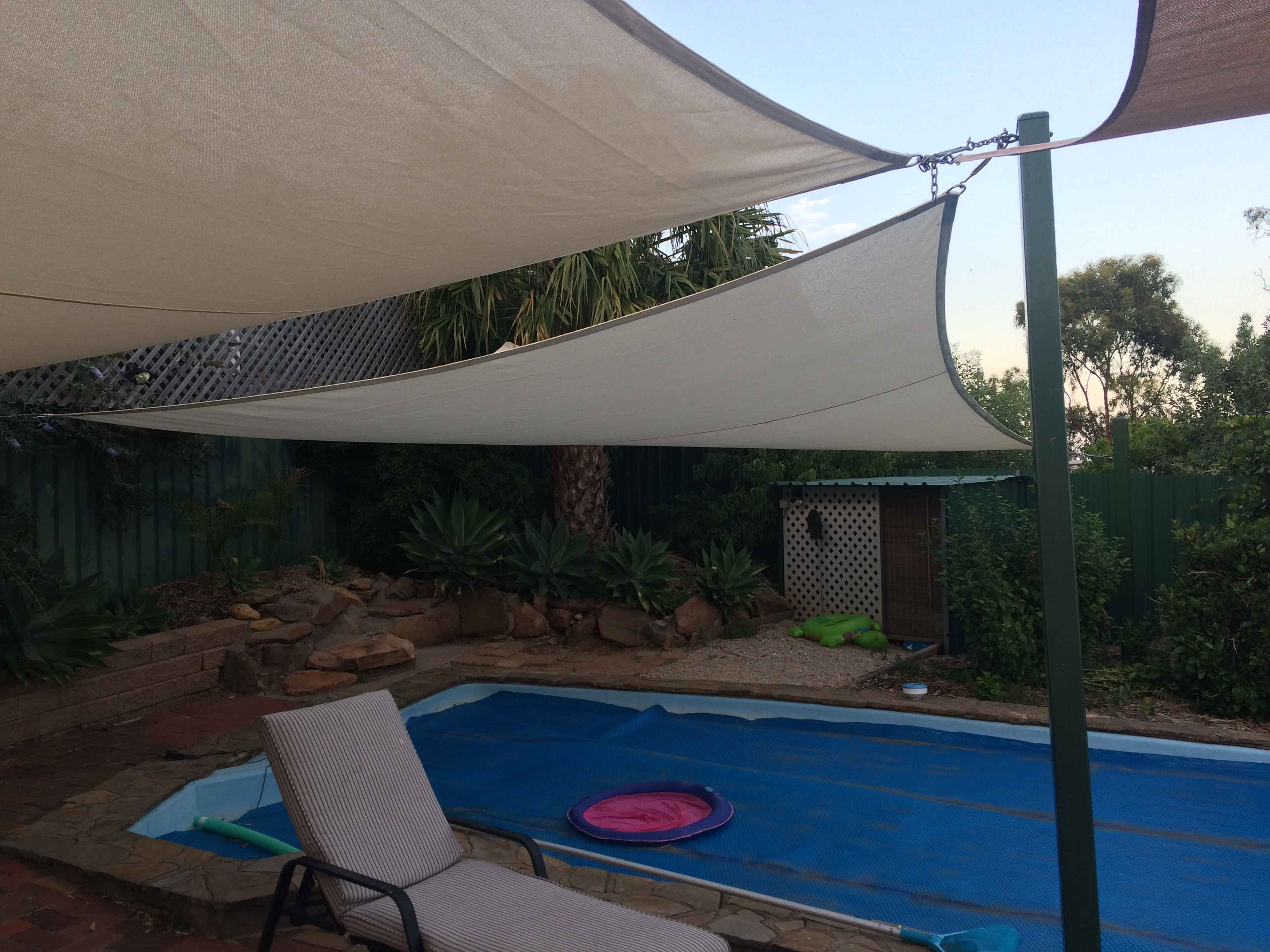 Sail shade World shade sail in South Australia, Australia