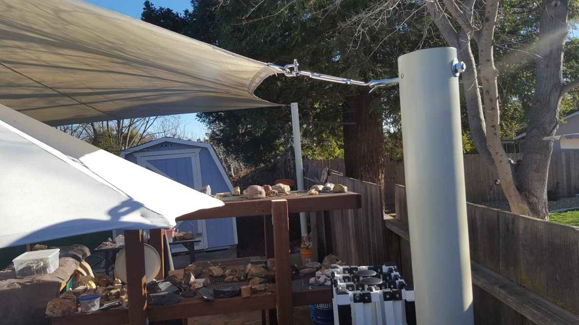Sail shade World shade sail in California, United States