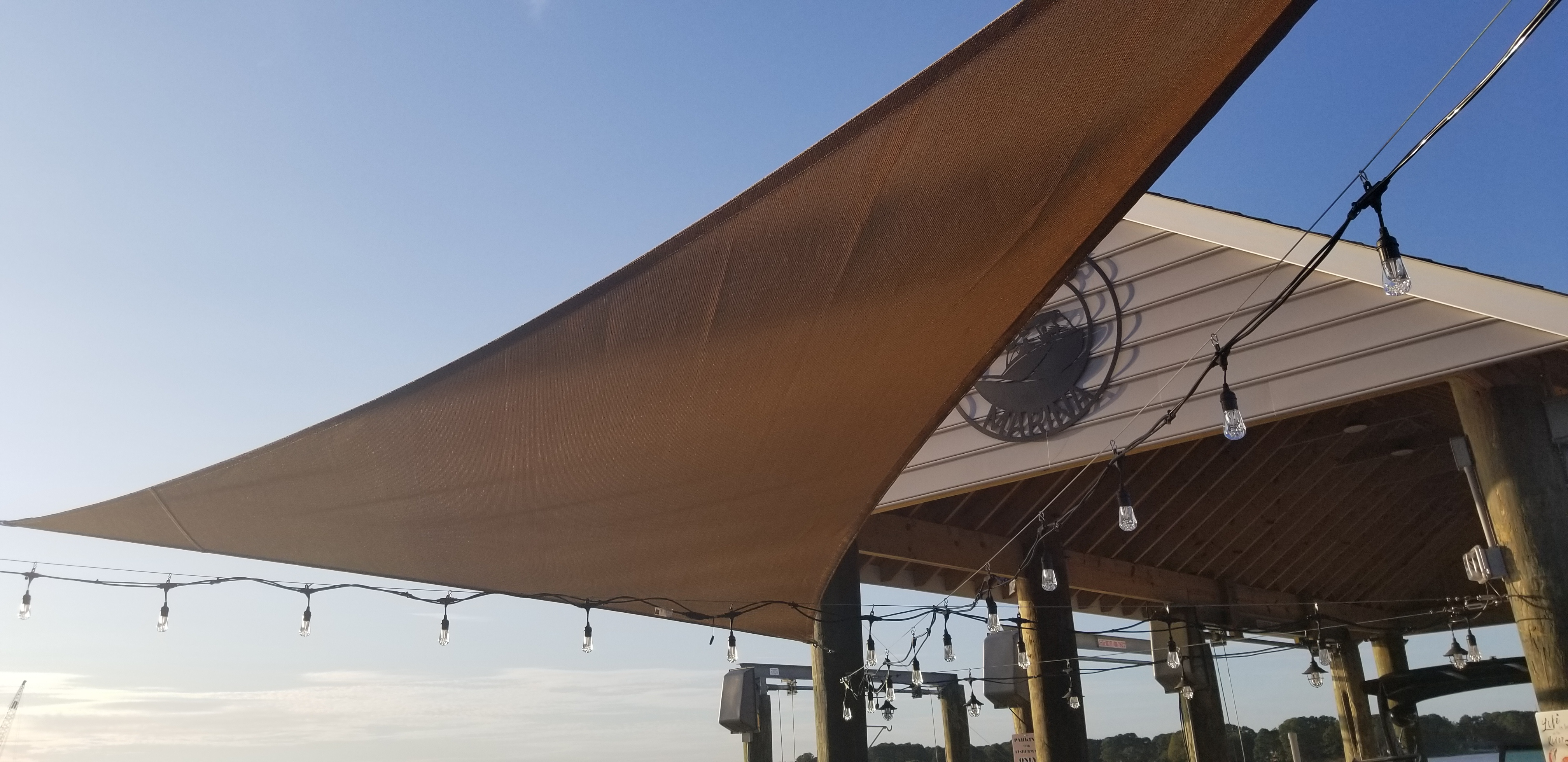 Sail shade World shade sail in Virginia, United States