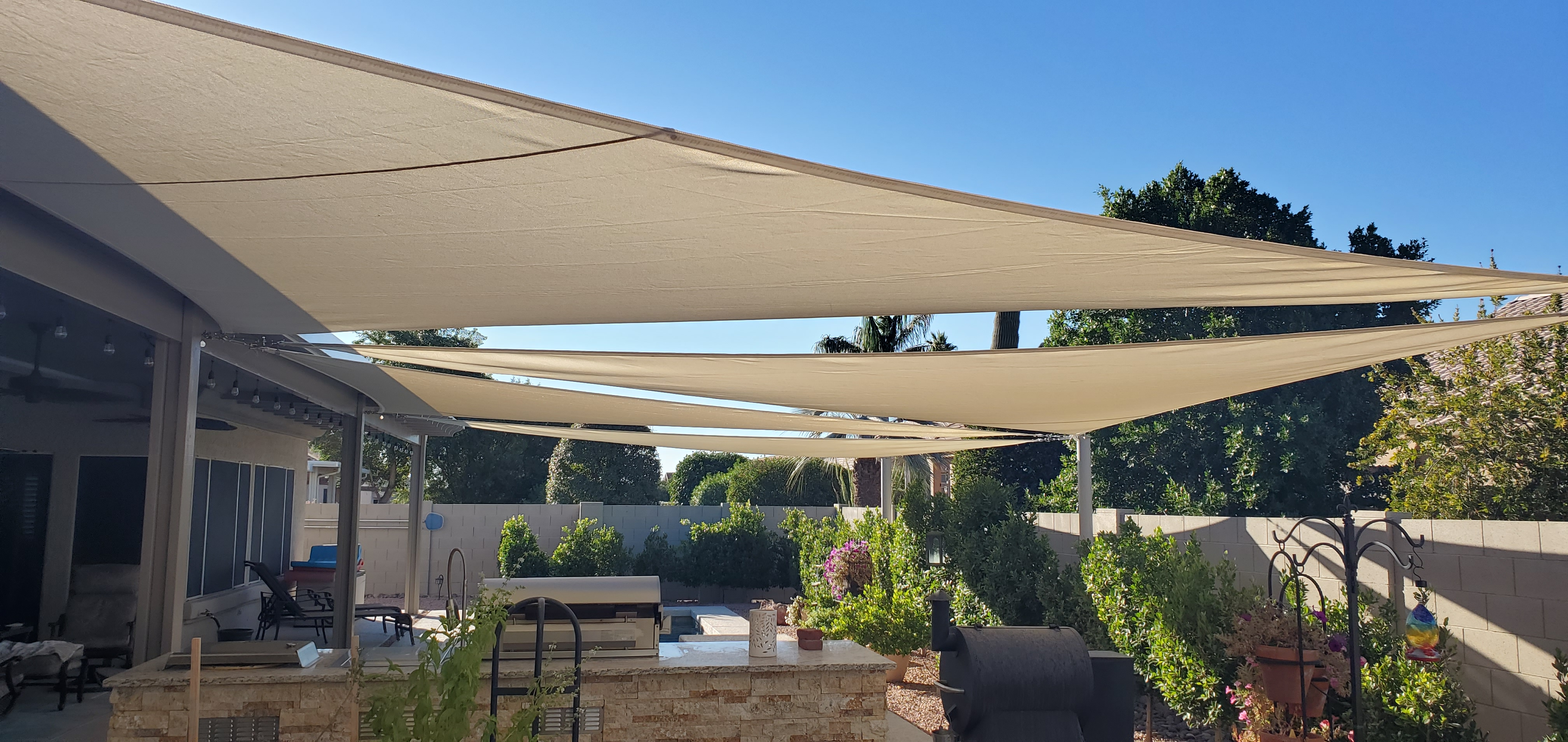 Sail shade World shade sail in Arizona, United States