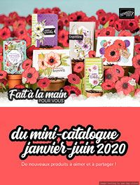 Stampin' Up! Mini-Catalogue Janvier-Juin 2020